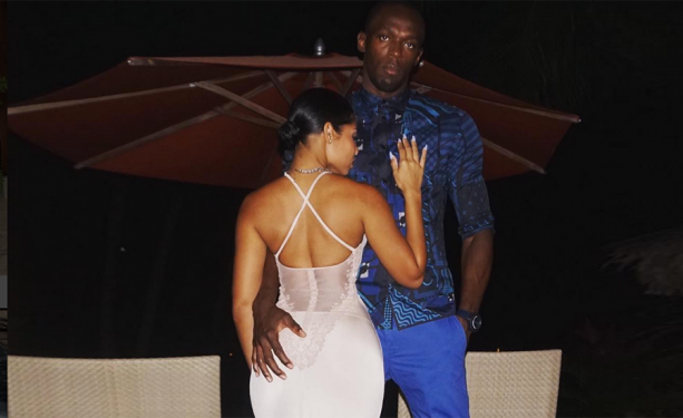 Usain Bolt's Fiancee Almost Nude On The Gram