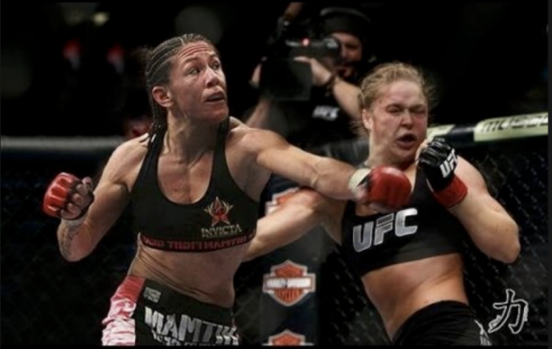 Cris Cyborg Might Have Run In With Ronda Rousey?