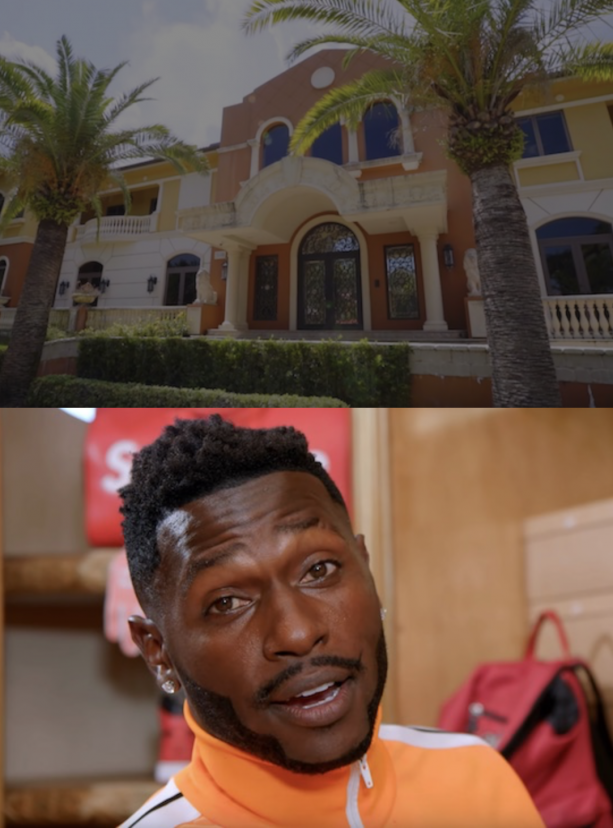 Checkout Antonio Browns Insane Mansion In Miami