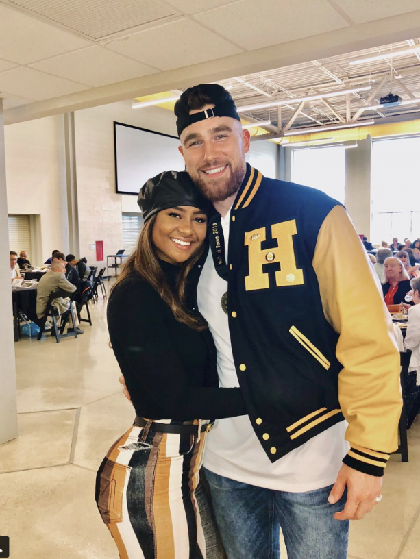 Travis Kelce & Girlfriend Kayla Nicole Getting Serious