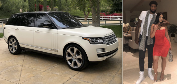 Paul George Buys His Baby Momma A New Range Rover For Mothers Day