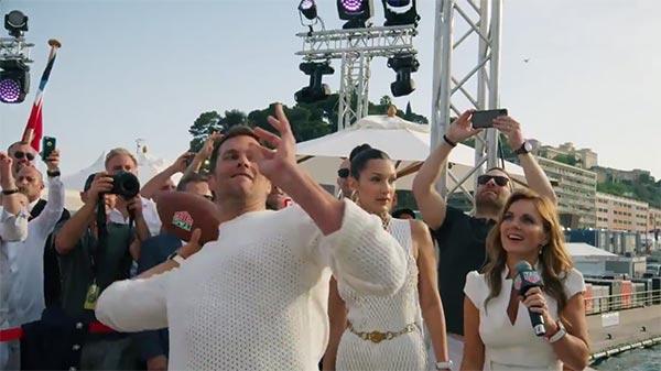 Tom Brady Throwing Yacht-To-Yacht Passes In Monaco Instead Of Team OTAs