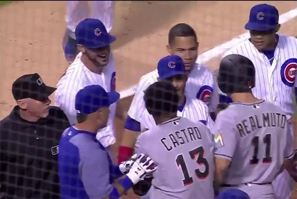 Bench-Clearing MLB Incident Turns Into A Tickle Fight