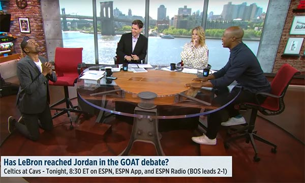 Jalen Rose & Jay Williams Get Heated About LeBron VS. MJ (VIDEO)