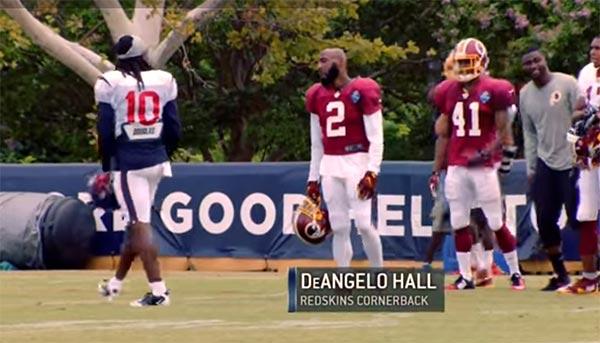 NFL CB DeAngelo Hall Retires After 14 Seasons