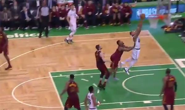 Celtics Fans Chanting 'F*ck You' To J.R. Smith After Cheap Shot On Al Horford (VIDEO)