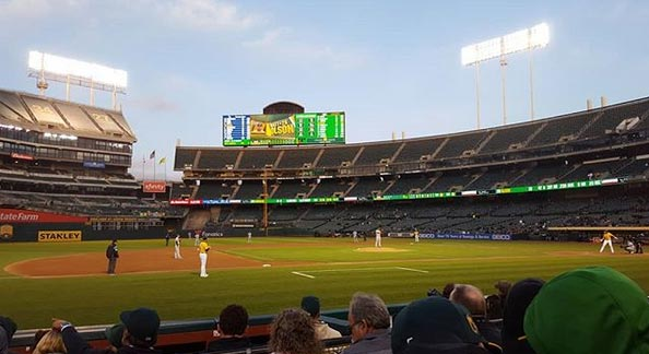 Athletics Draw Smallest Home Crowd In 15 Years (PICS)