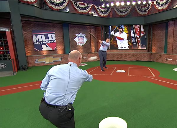 "VIDEO: Sean Casey Hits Line Drive Off Bill Ripken's Face On ""MLB Tonight"""