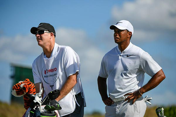 For $50,000 You Can Caddy A Round For Tiger Woods