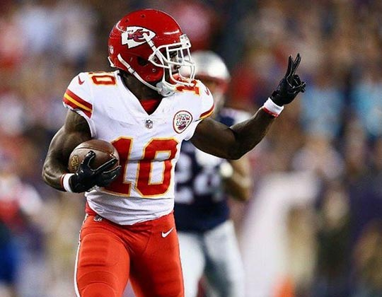 Chief's Tyreek Hill Unhappy With Speed Rating In Madden