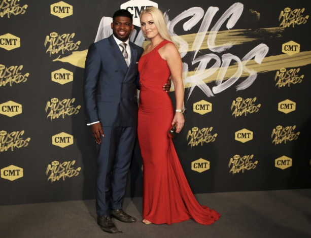 Lindsey Vonn & P.K. Subban Still Going Strong At Country Music Awards