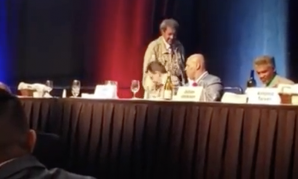 Mike Tyson Snaps On Don King Throws A Drink At Him