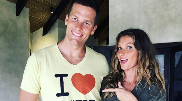 Tom Brady Showing His Love For Gisele On The Gram