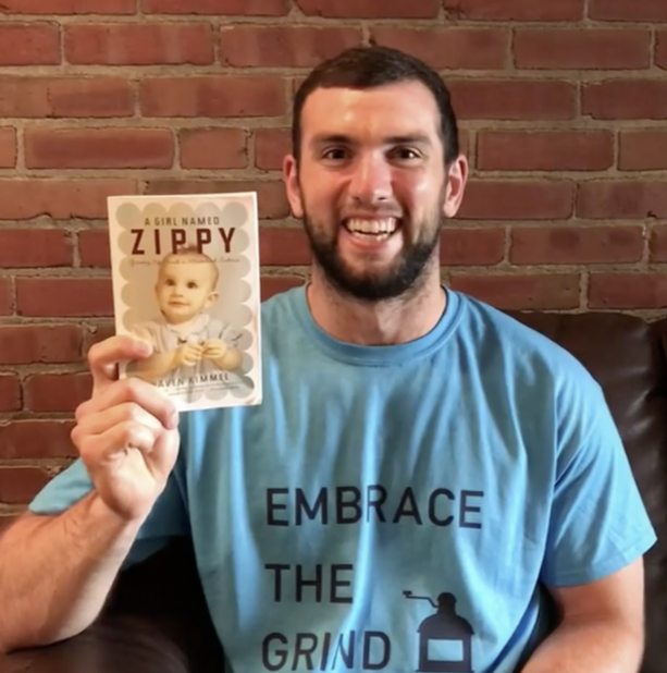 Andrew Luck Talks Andrew Luck Book Club On The Gram
