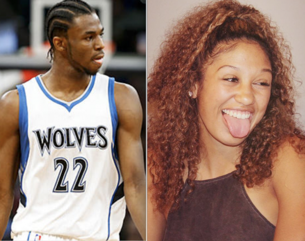 Andrew Wiggins Knocked Up His Girlfriend Mychal Johnson?