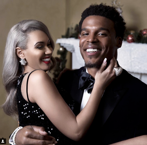 Cam Newton's Baby Momma Ready To Pop With Number 3