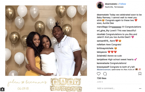 Jalen Ramsey Knocked Up Golden Tate S Sister Terez Owens 1 Sports Gossip Blog In The World View the profiles of people named brianna tate. jalen ramsey knocked up golden tate s