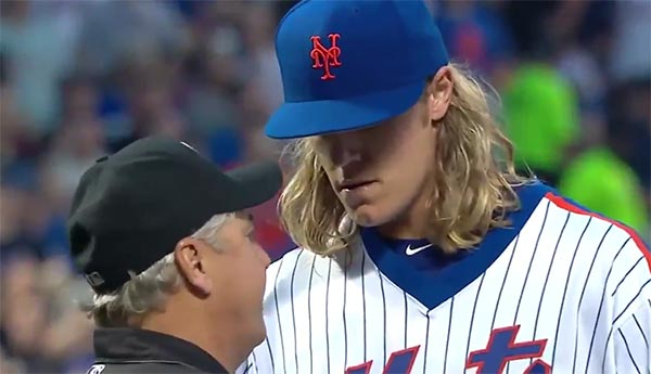 Watch Noah Syndergaard's 2016 Ejection With This WAY NSFW Mic'd Up Footage (VIDEO)