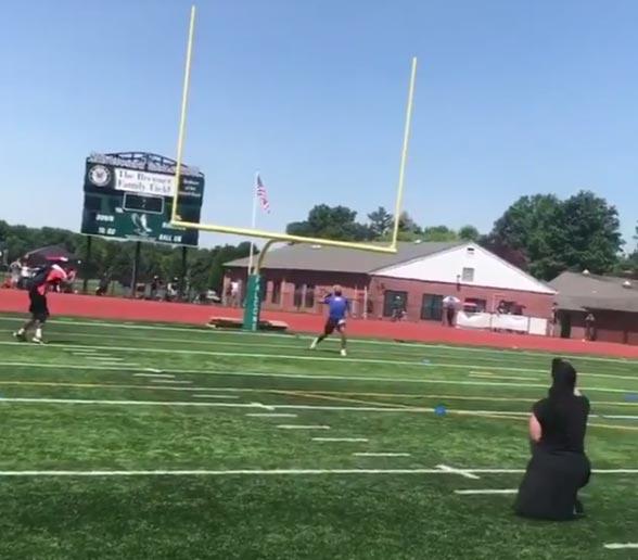 Odell Beckham Jr. Has A CANNON (VIDEO)