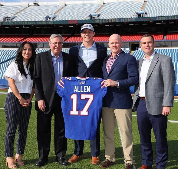 Bills Radio Host Makes Good On Promise To Quit If Team Drafted Josh Allen (TWEETS)