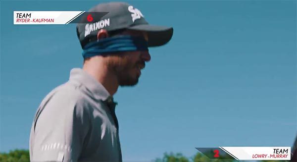 WATCH: PGA Tour Players Play Hole Blindfolded