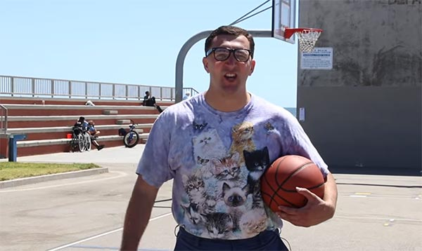 Fake Klay Showing Off His Real Basketball Skills In Undercover Prank