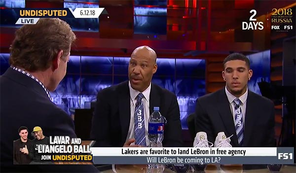 LaVar Ball Says Lonzo Will Make LeBron James A Better Player If He Signs With Lakers (VIDEO)