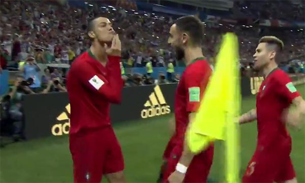 Watch Cristiano Ronaldo Score The First Penalty Kick Of The 2018 World Cup