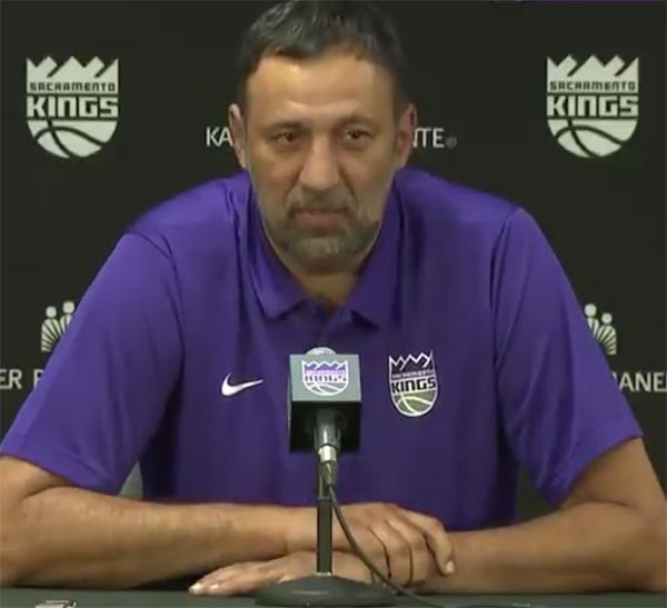 Sacramento GM Vlade Divac Says The Kings Are Now A Young 'Super Team'