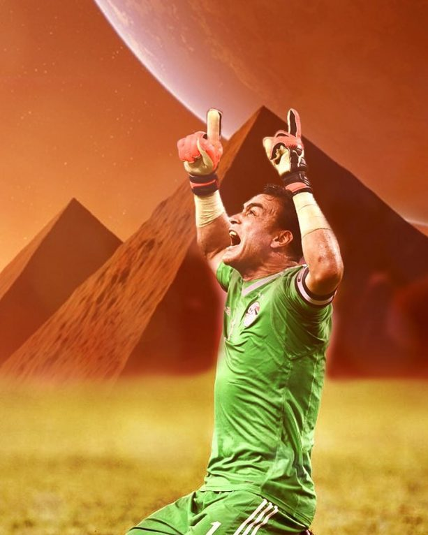 Watch Egypt's 45-Year-Old Goalie Block A Penalty Kick At The World Cup