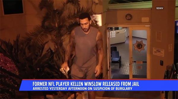 Kellen Winslow Jr. Arrested For Burglary At A Mobile Home Park
