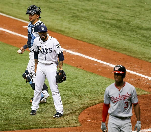Rays & Nationals Emptied The Benches Over Pitcher's 3 Week Old Grudge
