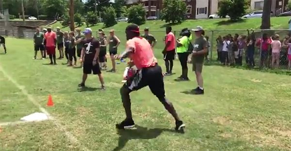 Julio Jones Is VERY Bad At Kickball