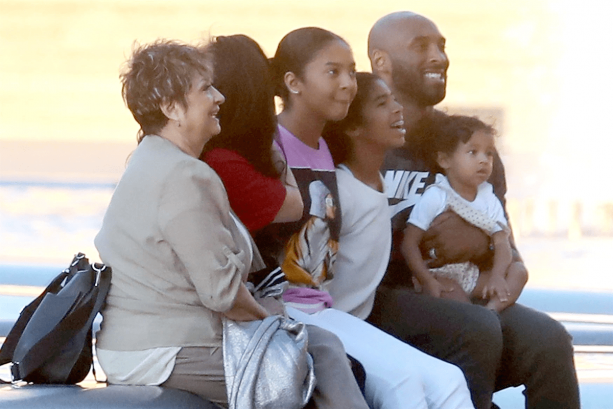Kobe Bryant Out & About In Paris With His Family