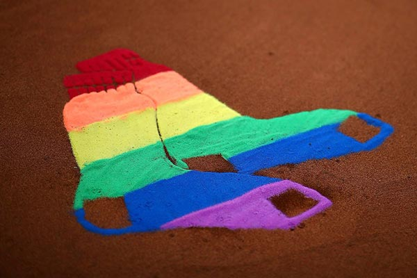 Red Sox Showing Their LGBT Pride