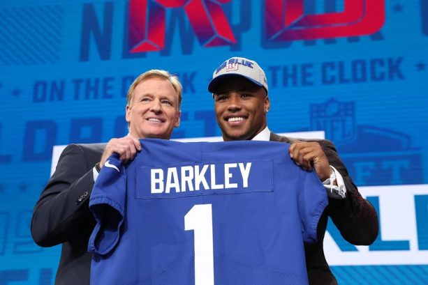 Saquon Barkley Says He's Going To Be Smart With His Money