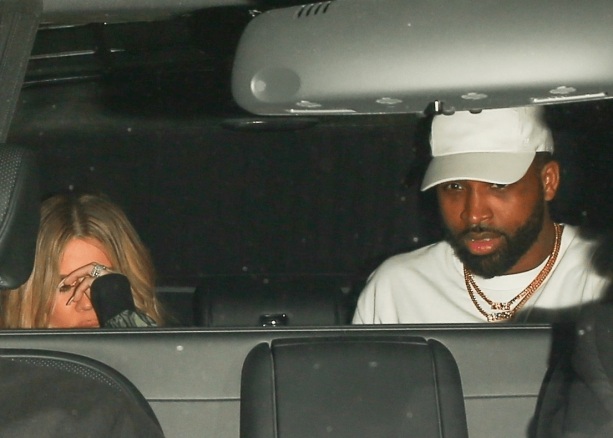 Tristan Thompson & Khloe Spotted Out and About In Los Angeles
