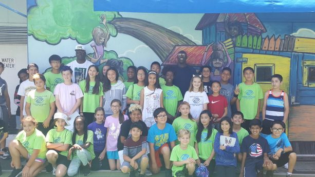 Terrell Owens Spending Time At Los Angeles Area Boys & Girls Club to Surprise Local Youth
