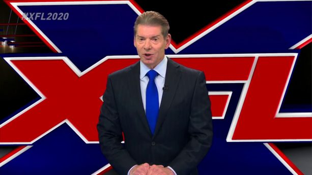 REPORT: Vince McMahon Expects To Spend $500 Million On XFL
