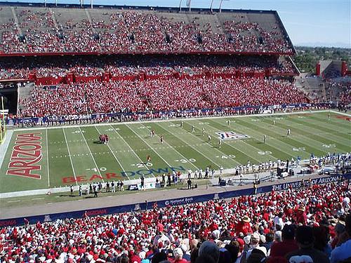 University Of Arizona To Sell Booze At Football Games