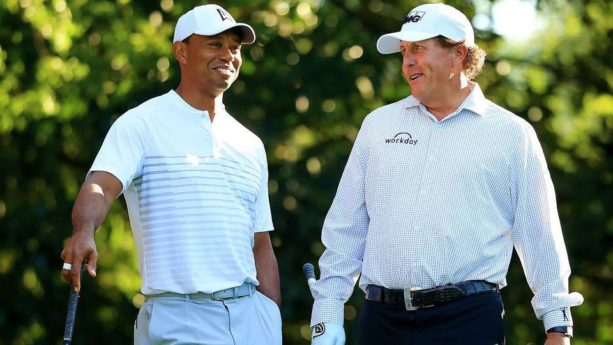 REPORT: Tiger And Phil Are Planning A Primetime $10 Million Winner-Take-All Match Play Round