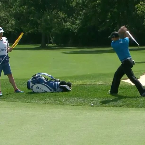 VIDEO: Sergio Garcia Takes Frustrations Out On Golf Bag At Canadian Open