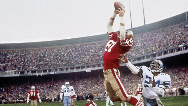 "Dwight Clark's Ashes Buried Next To Goal Post From ""The Catch"" (VIDEO)"