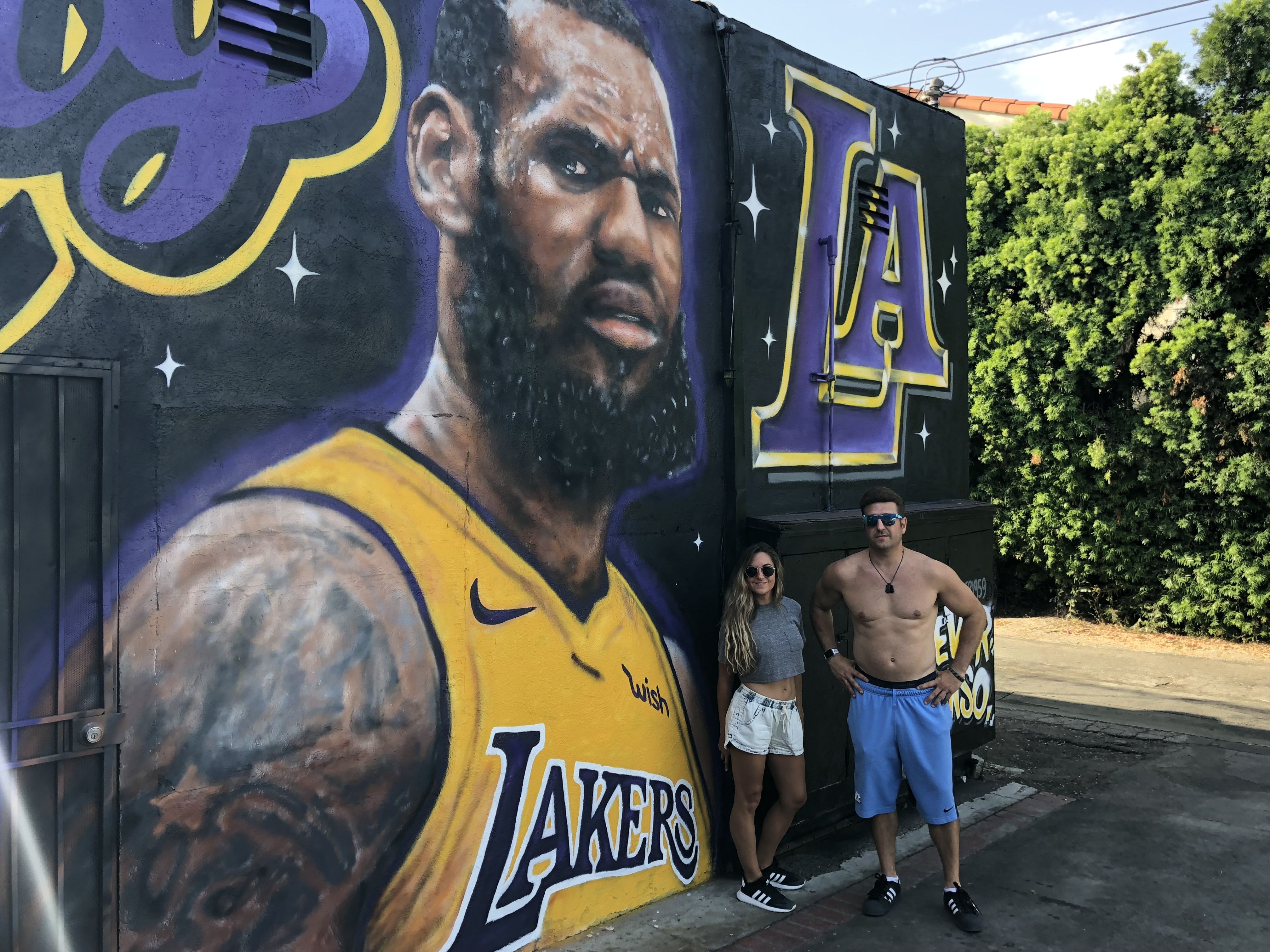 Update On The LeBron Mural In Venice Beach
