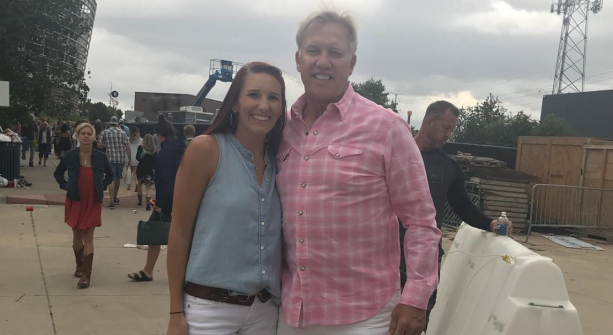 John Elway Spotted At Kenny Chesney With His Daughter