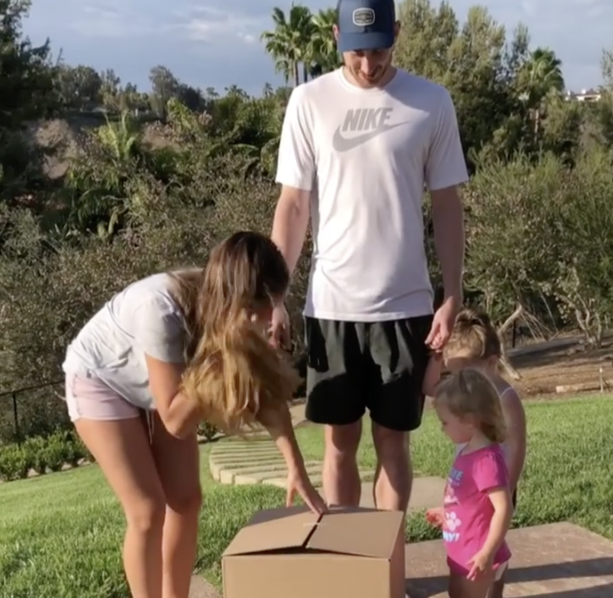 Gordon Hayward Found Out He's Having Another Baby Girl