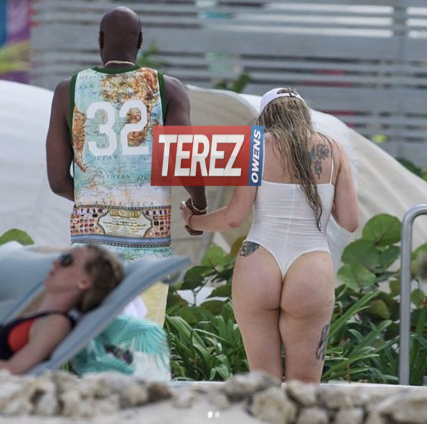 Lamar Odom In Barbados  With His Girlfriend