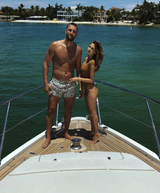 Chandler Parsons Just Living Life In South Beach