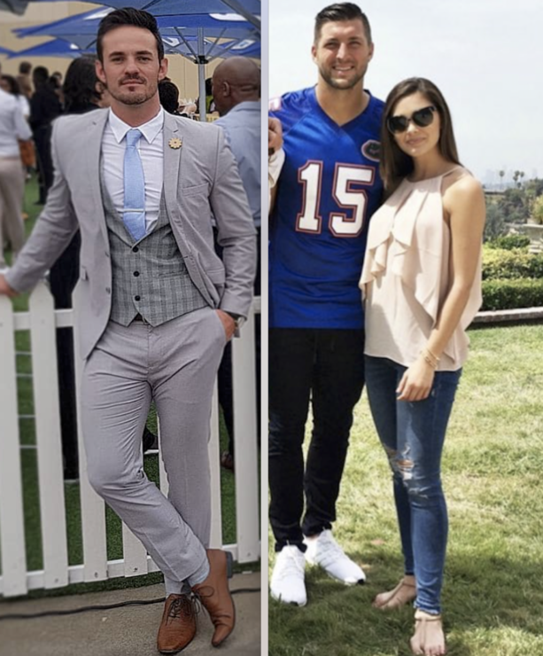 Tim Tebow Mr Steal Yo Girl With Miss South Africa Nel-Peters