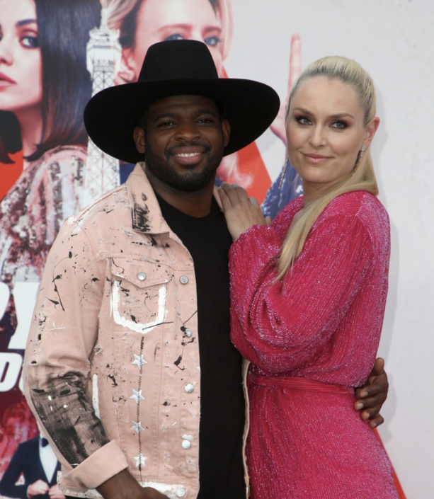Lindsey Vonn & PK Subban Spotted At Movie Premiere
